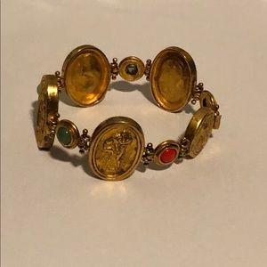 Jewelry - Decorative Gold Plated Bracelet